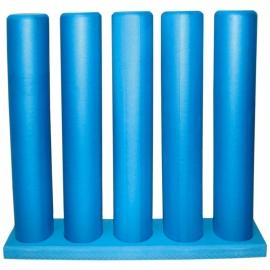 Rack foam rollers