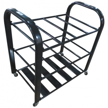 Chariot de rangement pour foam roller