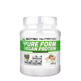 Pure Form Vegan Protein - Scitec Green Series