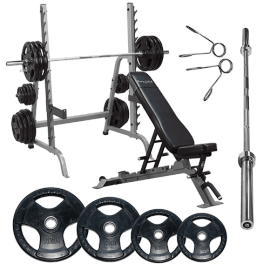 Combo Bench/Squat Pack - Body-Solid