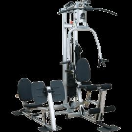 Home Gym design avec presse à cuisses - Body-Solid