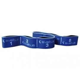 Elastiband Bleu 20 kg en boîte avec poster | Sveltus