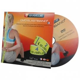 Elastiband Bleu 20 kg en boîte avec poster + DVD | Sveltus