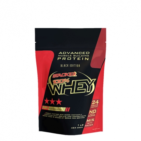 100% Whey 454g - Stacker2