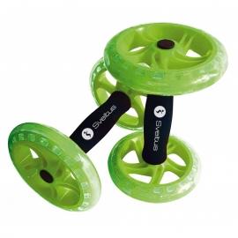 Double AB Wheel vert - Sveltus