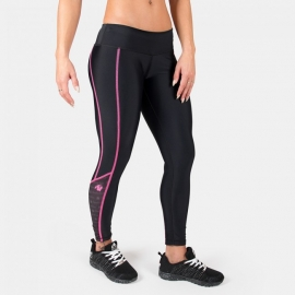 Carlin Compression Tight - Black/Pink - Gorilla Wear