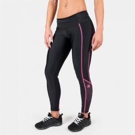 Carlin Compression Tight - Black/Pink - Gorilla Wear