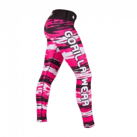 Santa Fe Tights (Pink) - Gorilla Wear