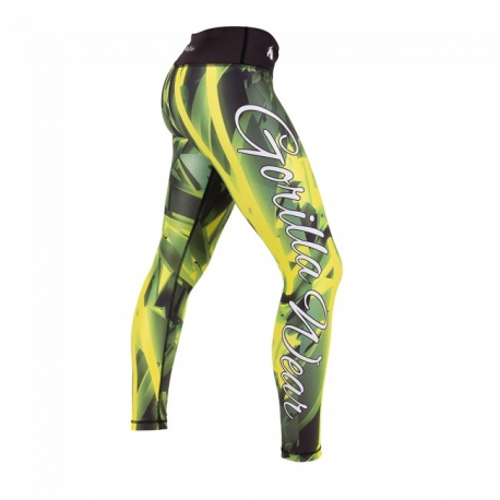 Reno Tights (Yellow) - Gorilla Wear