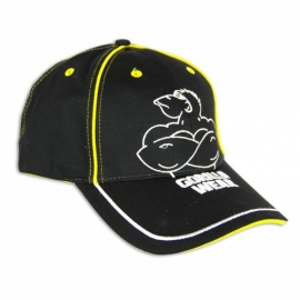 Muscle Monkey Cap (Black/Yellow) - Gorilla Wear