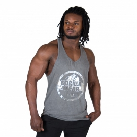 Mill Valley Tank Top (Gray) - Gorilla Wear