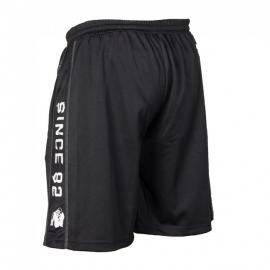 Functional Mesh Shorts Black/White - Gorilla Wear