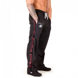 Functional Mesh Pants (Black/Red) - Gorilla Wear