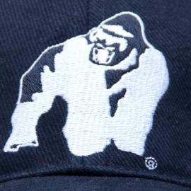 Muscle Monkey Cap (Black/Yellow) - Gorilla Wear