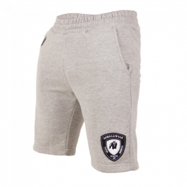 Functional Mesh Shorts Black/White - Gorilla Wear