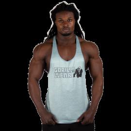Austin Tank Top - Gray/Black - Gorilla Wear