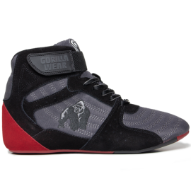 Perry High Tops Pro - Red/Black - Gorilla Wear
