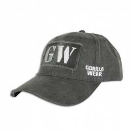 GW Washed Cap Gray - Gorilla Wear