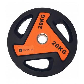 Disque olympique - 20 kg - Sveltus