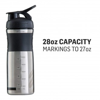 SportMixer Stainless (820ml) - Blender Bottle