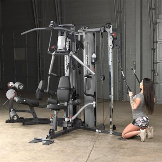 Appareil Musculation Multifonctions Home Gym Bi Angulaire Body Solid
