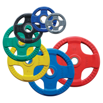 Disques olympiques 4 Grip en...
