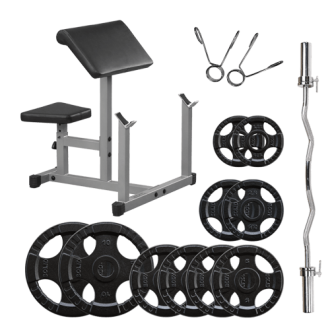 Powerline Pack Pupitre à Biceps - Body-Solid