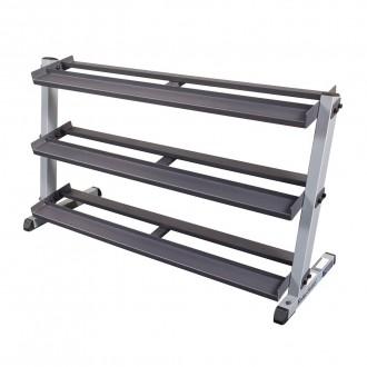 Support pour haltères Pro 3 niveaux GDR603 - Body-Solid