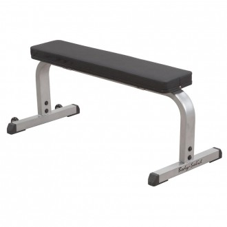 Banc plat droit simple compact flat bench GFB350 - Body-Solid