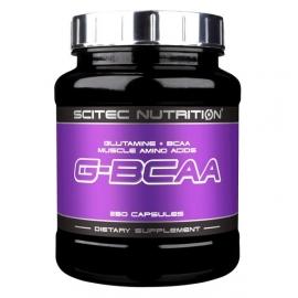 G-BCAA Scitec Nutrition | GLUTAMINE + acides aminés essentiels BCAA