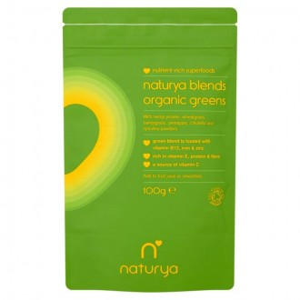 Greens Blend (100g) - Naturya Superfoods