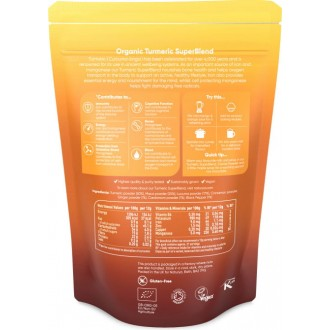Turmeric SuperBlend Powder (250g) -...
