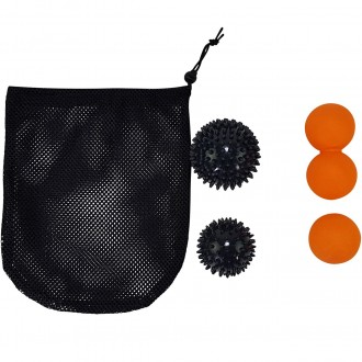 Tunturi Massage Ball Set, 4 Balls