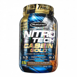 Nitro-Tech Casein Gold - MuscleTech