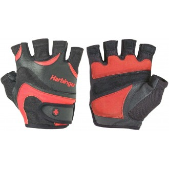 Flexfit Men gloves Black/Red - Harbinger