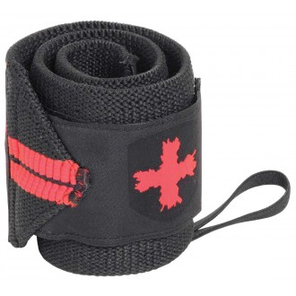 Red Line Wrist Wraps Black/Red -...