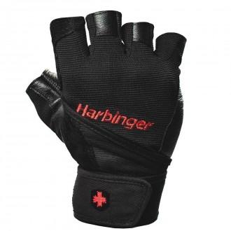 Wristwrap Pro Men Gloves Black -...
