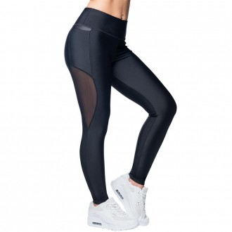 Anarchy Apparel Leggings, Mesh Panel,...