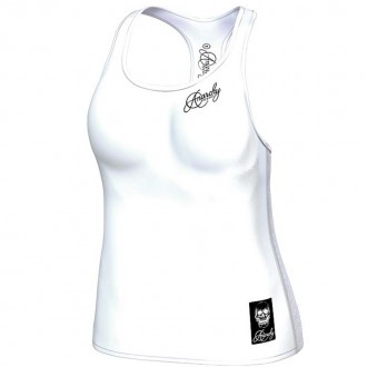 Anarchy Apparel Tank Top, Cranium, white