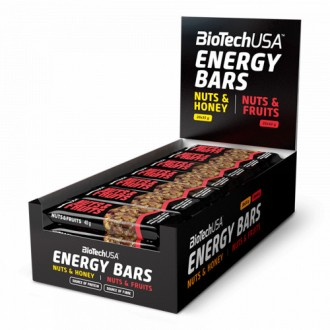 Energy Bars - BioTech USA
