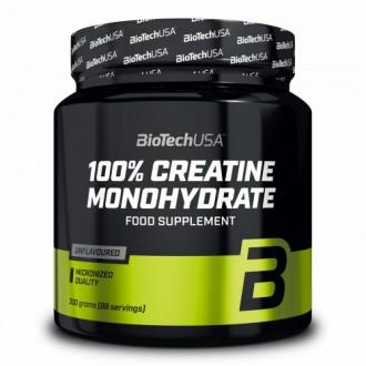 100% Créatine Monohydrate - Biotech USA