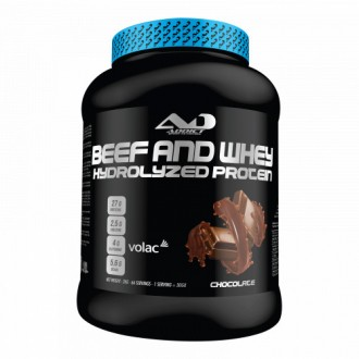 Beef & Whey Hydrolyzed Protein -...