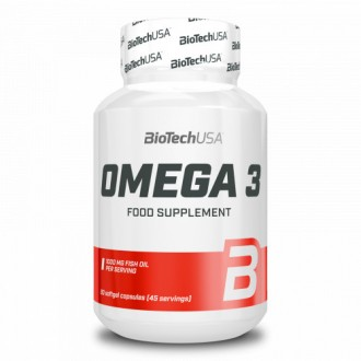 Omega 3 - Biotech USA