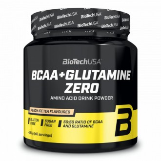BCAA+Glutamine Zero - BioTech USA