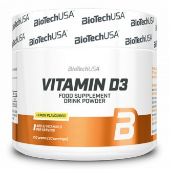Vitamin D3 400 UI - BioTech USA