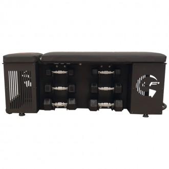 LF' Tool Bench avec équipements de musculation - Leaderfit