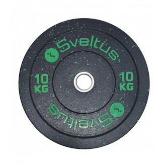 Disque olympique bumper 10 kg x1 -...