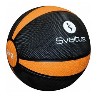 Médecine ball 2 kg vrac - Sveltus