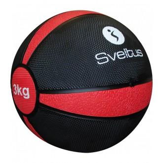 Médecine ball 3 kg vrac - Sveltus