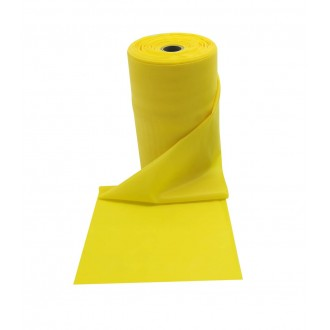 Rouleau bande jaune 25m light - Sveltus